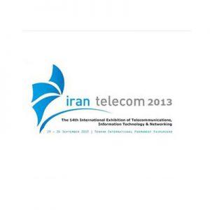نمایشگاه بین المللی ایران تله کام ۲۰۱۳ با حضور فعال مرکز تحقیقات فطروسی